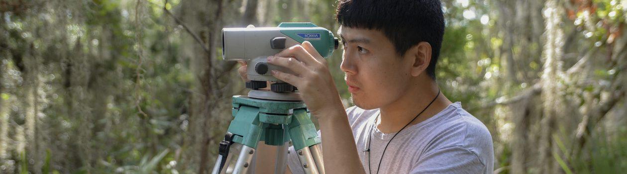 UNF Student Surveying
