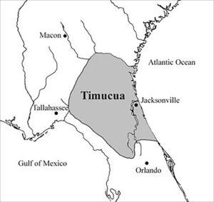 Timucua Territory map